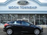 2012 Tuxedo Black Metallic Ford Focus Titanium 5-Door #60009412