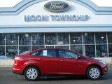 2012 Red Candy Metallic Ford Focus SE Sedan #60009411