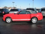 2012 Race Red Ford Mustang V6 Convertible #60045586