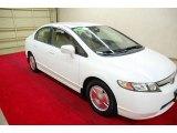 2007 Taffeta White Honda Civic Hybrid Sedan #60045237