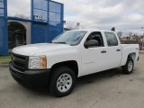 2012 Summit White Chevrolet Silverado 1500 Work Truck Crew Cab 4x4 #60045195