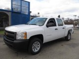 2012 Summit White Chevrolet Silverado 1500 Work Truck Crew Cab 4x4 #60045194