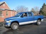 2005 Atlantic Blue Pearl Dodge Ram 1500 SLT Quad Cab 4x4 #60045854