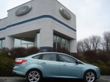 2012 Frosted Glass Metallic Ford Focus SEL Sedan #60045153
