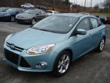 Frosted Glass Metallic Ford Focus in 2012