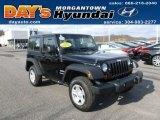 2011 Black Jeep Wrangler Sport 4x4 #60045808