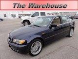 2003 Orient Blue Metallic BMW 3 Series 330xi Sedan #60045108