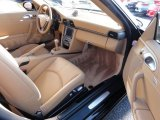 2007 Porsche 911 Carrera 4 Coupe Sand Beige Interior