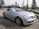 2007 Mercedes-Benz SLK Diamond Silver Metallic