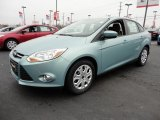 2012 Frosted Glass Metallic Ford Focus SE Sedan #60045043