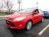 2012 Race Red Ford Focus SEL 5-Door #60045035