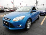 2012 Blue Candy Metallic Ford Focus SE Sport 5-Door #60045031