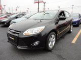 2012 Tuxedo Black Metallic Ford Focus SE Sport 5-Door #60045030