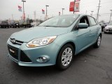 2012 Frosted Glass Metallic Ford Focus SE 5-Door #60045026