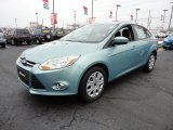 2012 Frosted Glass Metallic Ford Focus SE Sedan #60045024
