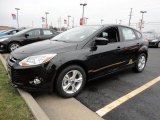 2012 Tuxedo Black Metallic Ford Focus SE Sport 5-Door #60045020
