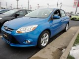 2012 Blue Candy Metallic Ford Focus SE Sport Sedan #60045018