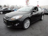 2012 Tuxedo Black Metallic Ford Focus Titanium Sedan #60045017