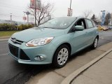 2012 Frosted Glass Metallic Ford Focus SE 5-Door #60045014