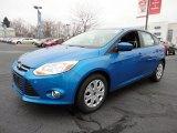 2012 Blue Candy Metallic Ford Focus SE 5-Door #60045008