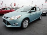 2012 Frosted Glass Metallic Ford Focus SE Sedan #60045006