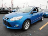 2012 Blue Candy Metallic Ford Focus SE Sport Sedan #60045003