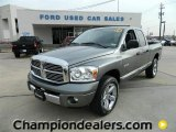 2008 Mineral Gray Metallic Dodge Ram 1500 Laramie Quad Cab 4x4 #60044989
