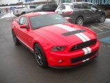 2011 Race Red Ford Mustang Shelby GT500 SVT Performance Package Coupe #60045342