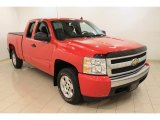2008 Victory Red Chevrolet Silverado 1500 LT Extended Cab #60045615