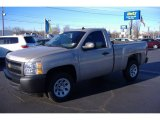 2009 Silver Birch Metallic Chevrolet Silverado 1500 Regular Cab #60045309