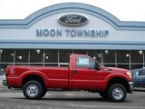 2012 Vermillion Red Ford F250 Super Duty XL Regular Cab 4x4 #60045285