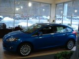 2012 Blue Candy Metallic Ford Focus Titanium 5-Door #60045275