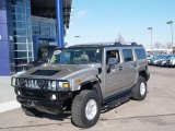2003 Pewter Metallic Hummer H2 SUV #60112063
