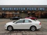 2010 White Platinum Tri-coat Metallic Ford Fusion SEL #60111628