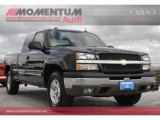 2004 Dark Gray Metallic Chevrolet Silverado 1500 Z71 Extended Cab 4x4 #60112039