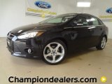 2012 Tuxedo Black Metallic Ford Focus Titanium Sedan #60111216