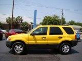 2003 Ford Escape Chrome Yellow Metallic