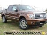 2012 Golden Bronze Metallic Ford F150 Platinum SuperCrew 4x4 #60111205