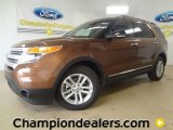 2011 Golden Bronze Metallic Ford Explorer XLT #60111187