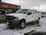 2003 Oxford White Ford F250 Super Duty XL SuperCab Chassis #60111999