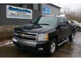 2007 Black Chevrolet Silverado 1500 LT Extended Cab 4x4 #60111530