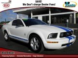 2007 Performance White Ford Mustang V6 Premium Coupe #60111960