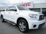 2007 Super White Toyota Tundra Limited CrewMax #60111515