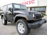 2012 Black Jeep Wrangler Sport S 4x4 #60111514