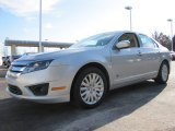 2010 Brilliant Silver Metallic Ford Fusion Hybrid #60111945