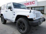 2012 Bright White Jeep Wrangler Sahara Arctic Edition 4x4 #60111513