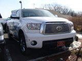 2010 Super White Toyota Tundra Limited Double Cab 4x4 #60111915