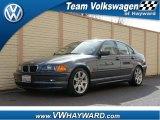 2001 Steel Blue Metallic BMW 3 Series 325i Sedan #60111905