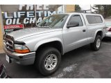 2003 Bright Silver Metallic Dodge Dakota SLT Regular Cab 4x4 #60111893