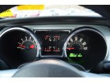 2006 Ford Mustang V6 Premium Coupe Gauges